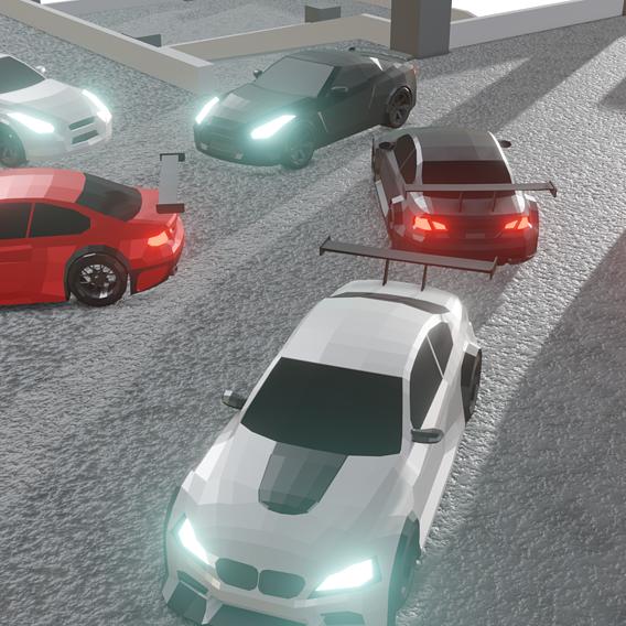 drift car parking