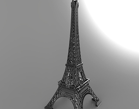 landmark 3D printable model Eiffel Tower