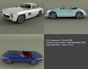 3D model Neo Classic Cars