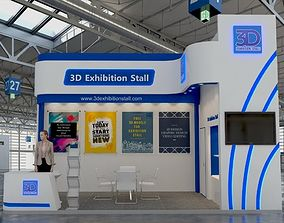 Exhibition Stall 248 3D model