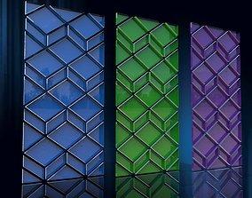 3D asset Decorative panel