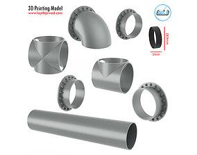 3D print model Sewage Pipe Assembly