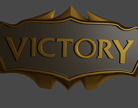 League of legends victory sign - Print ready decoration