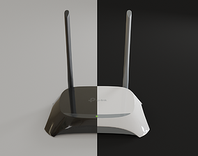 3D model WiFi Router TP-Link