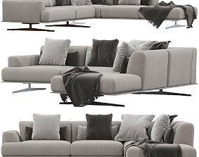 3D model Max Divani ALBACHIARA sofa sectional