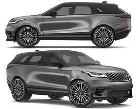 2018 Land Rover Range Rover Velar Corris Grey 3D