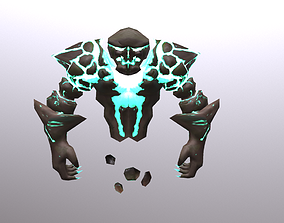 3D model Earth Spirit Elemental
