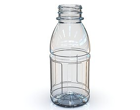 PET Bottle PCF - 38P - 1 - Panel 330 mL - for water - 3D