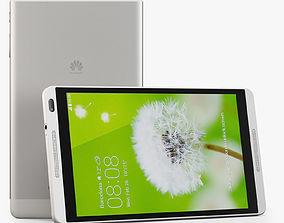 Huawei MediaPad M1 3D model realtime