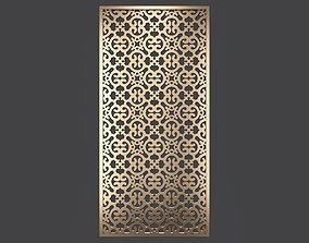Decorative panel 352 3D model