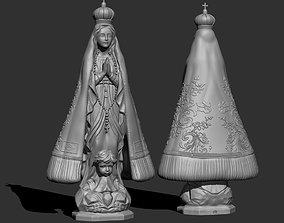 3D print model Nossa senhora aparecida Our Lady of the 1