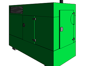 MOTOGENERADOR 3D model