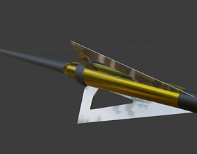 Realistic Arrow Game Ready 3D model