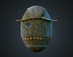 3D model Wood Voodoo mask
