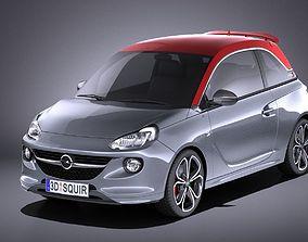 3D Opel Adam S 2017 VRAY
