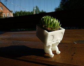 3D printable model Pot man