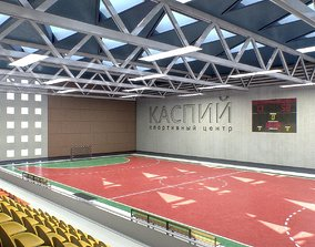 3D model Gym Athletics Interior
