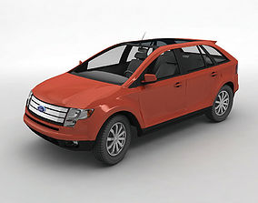 3D 2007 Ford Edge SEL Crossover