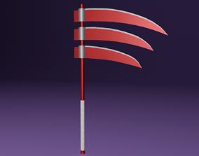 3D Triple-Bladed Scythe