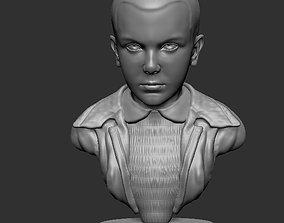 Eleven Stranger Things Bust 3D printable model