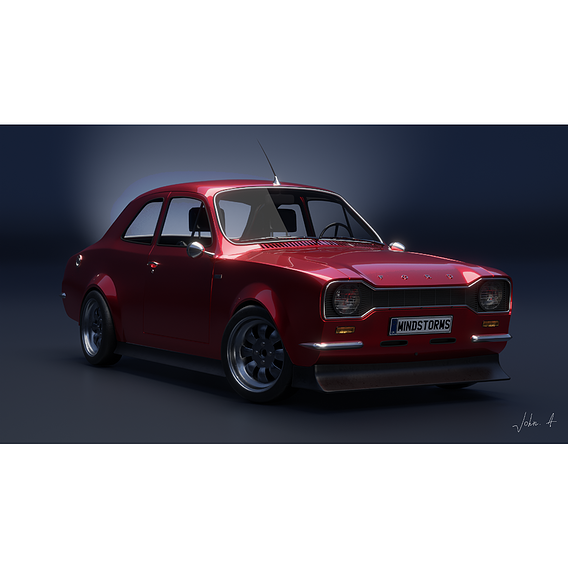 based on the Ford Escort 1971