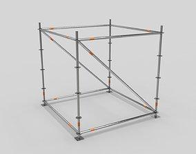 3D asset Scaffold Layher Module