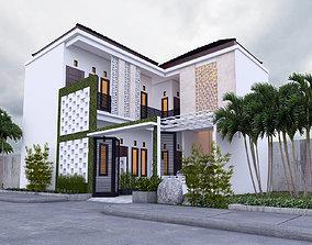 3D model BALINESE HOUSE