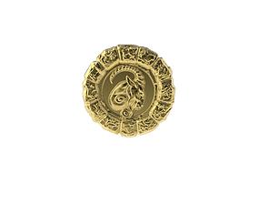 Medal Astro Capricorn 3D printable model