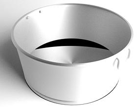 Basin Steel 3D