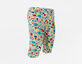 Baby or Toddler Pants 3D asset
