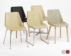 3D model Pala Chair - Full Set