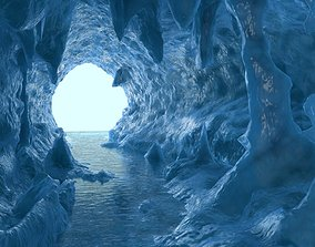 3D Ice cave model