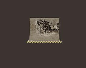 3D asset Concrete Barrier VR
