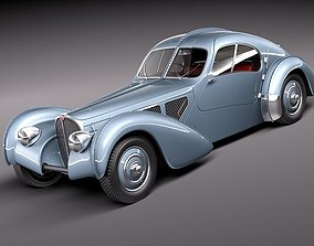 57sc Bugatti Type 57 Atlantic 3D model