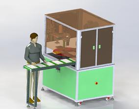 Tablet sander 3D model
