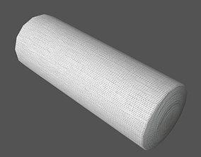 Gauze Bandage Roll 3D model