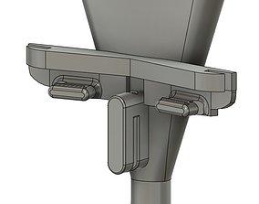 3D print model dental suction covid19