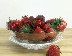 deciduous strawberry 3D