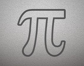 3D print model Pi Sign