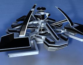 starship Atlantis 3D model