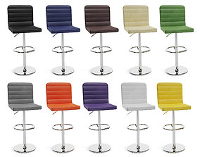 Mint Bar Stool 3D