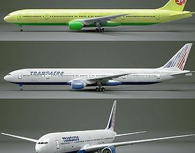 3D model Boeing 777-300