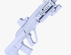 Steyr AUG Assault Rifle 3D asset