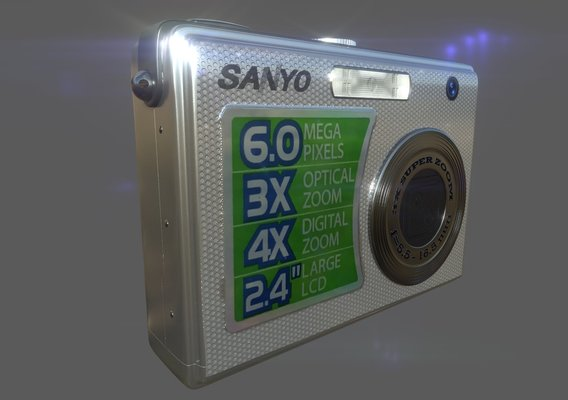 Sanyo VPC S600