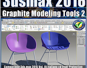 019 3ds max 2016 Graphite Modeling Tools 2 vol 19 cd 1