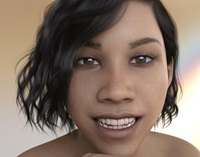 3D model Yachi - Beautiful Asian Female