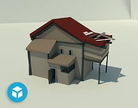 other Low poly House 3D model realtime
