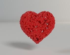 3D printable model Bubbleheart