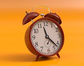 Retro Alarm Clock 3D model
