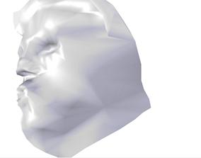 Donald J Trump Face 3D model